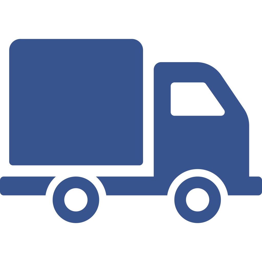 Local moving truck icon