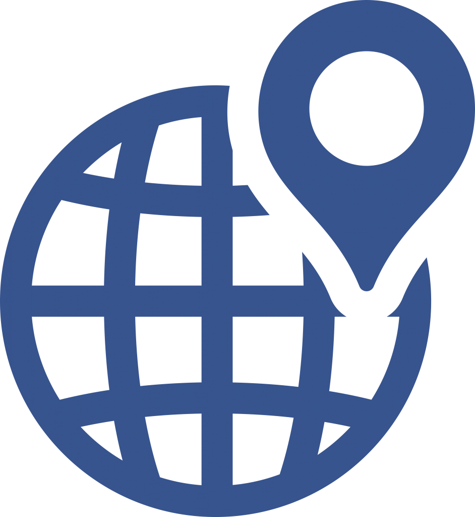 Long Distance Movers globe icon